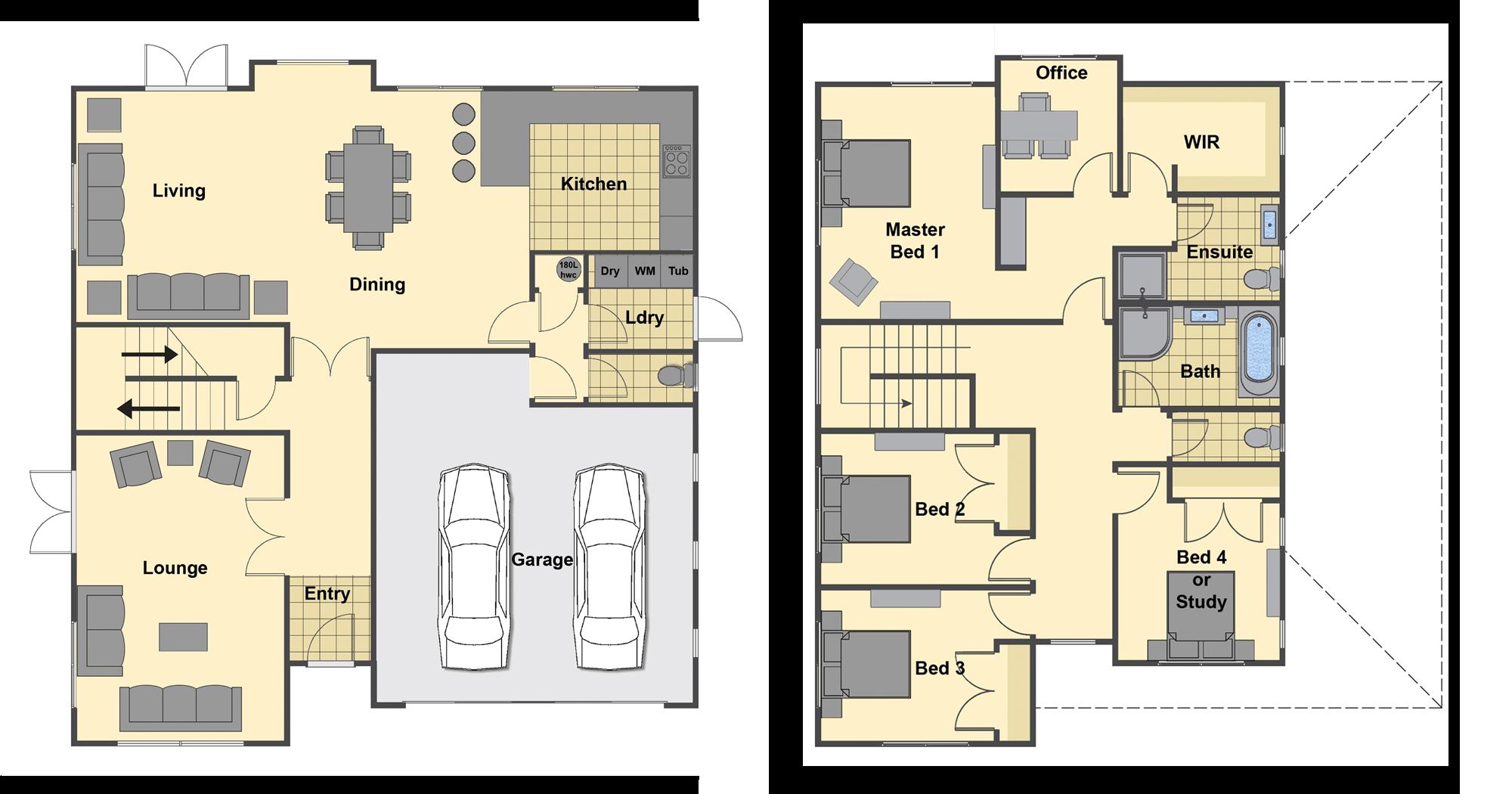 Langstone Floor Plan