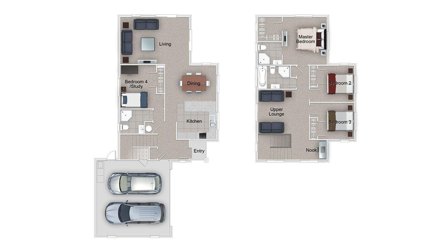 Ascott Floor Plan