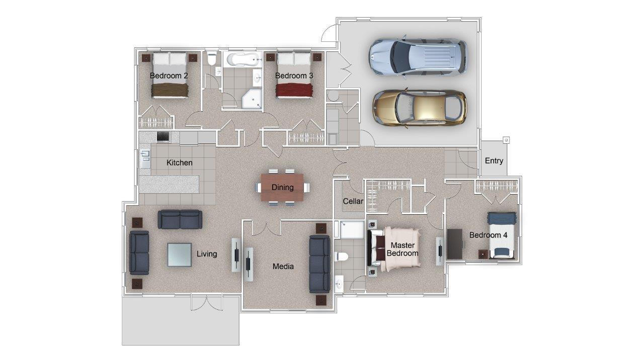Radfield Floor Plan