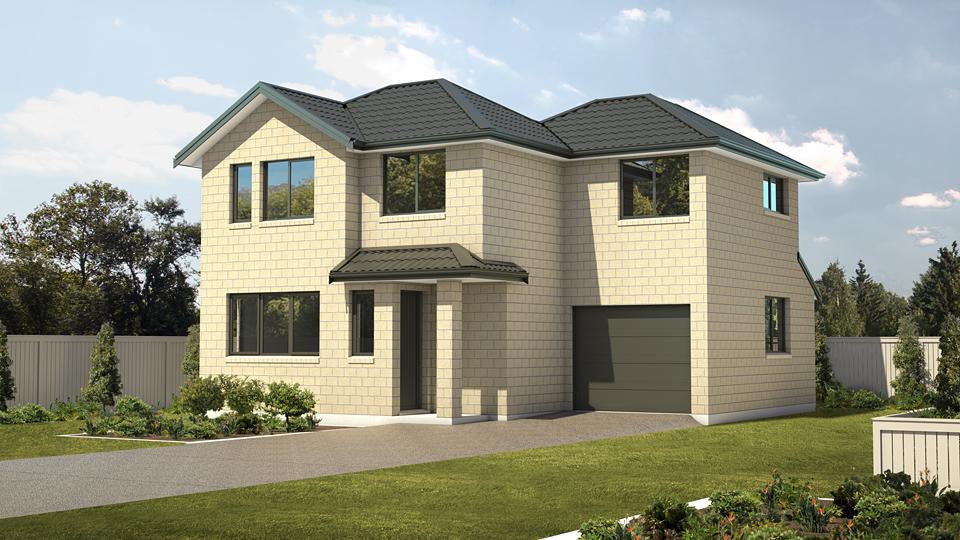 3D house plan