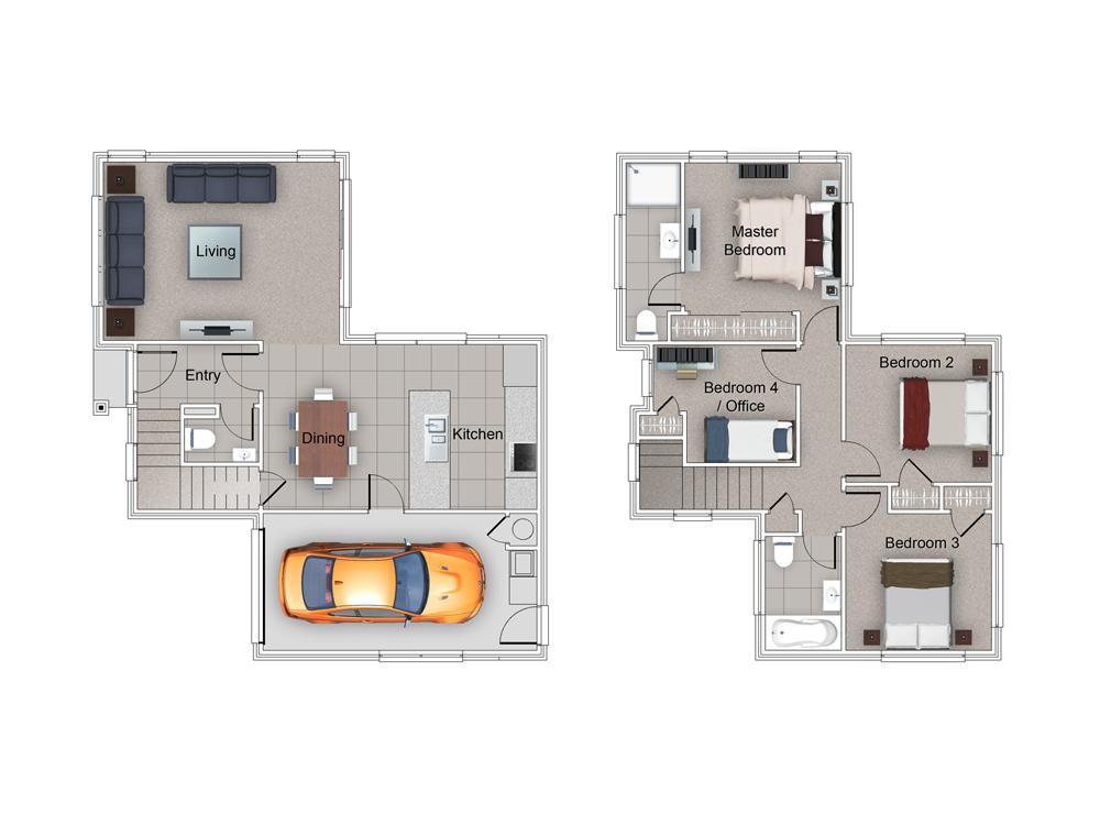Camden Floor Plan