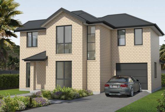 3D front house model