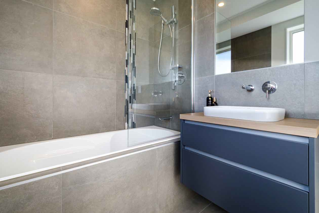 Bathroom in new home by Ashcroft Homes