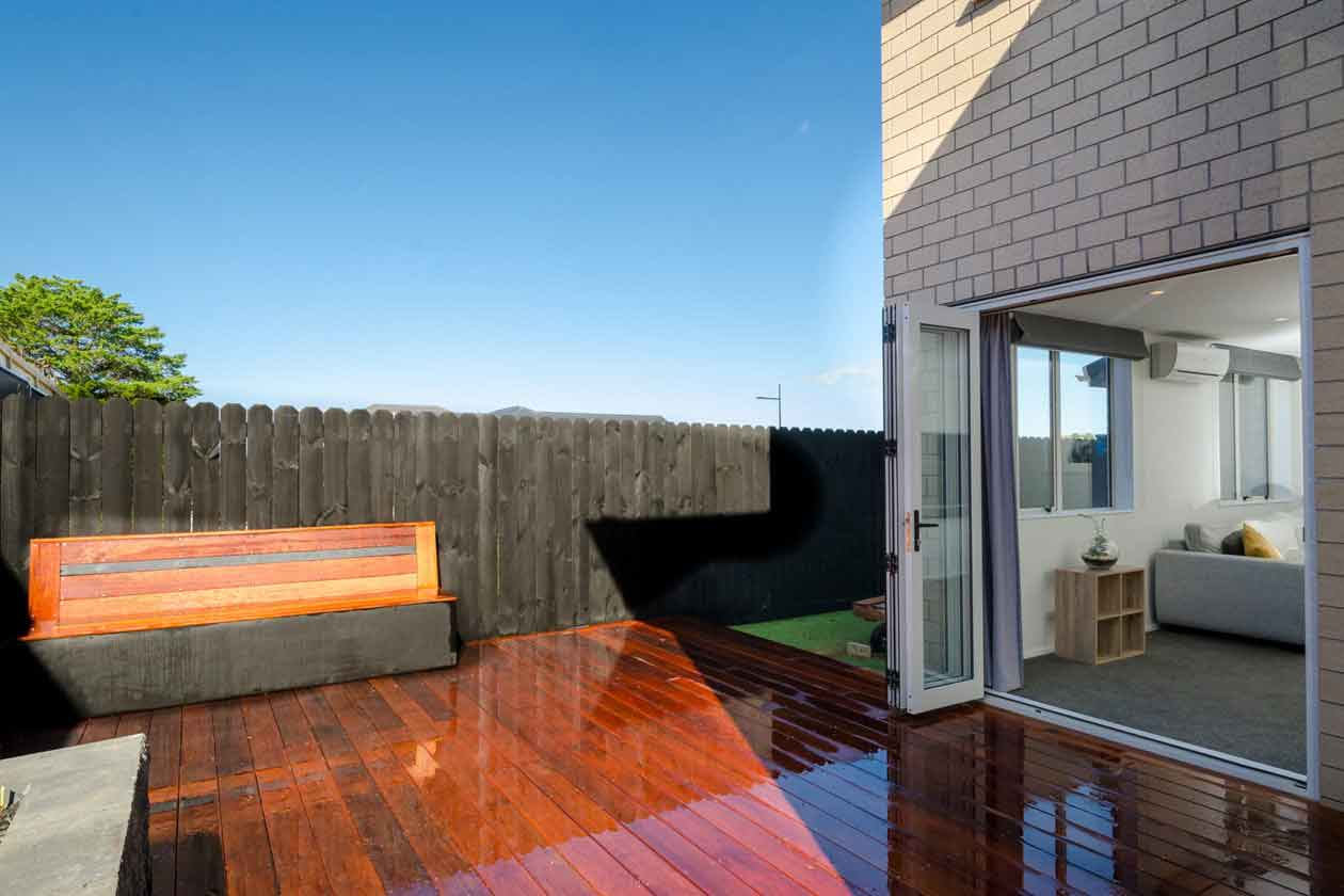 Indoor outdoor flow with Ashcroft Homes