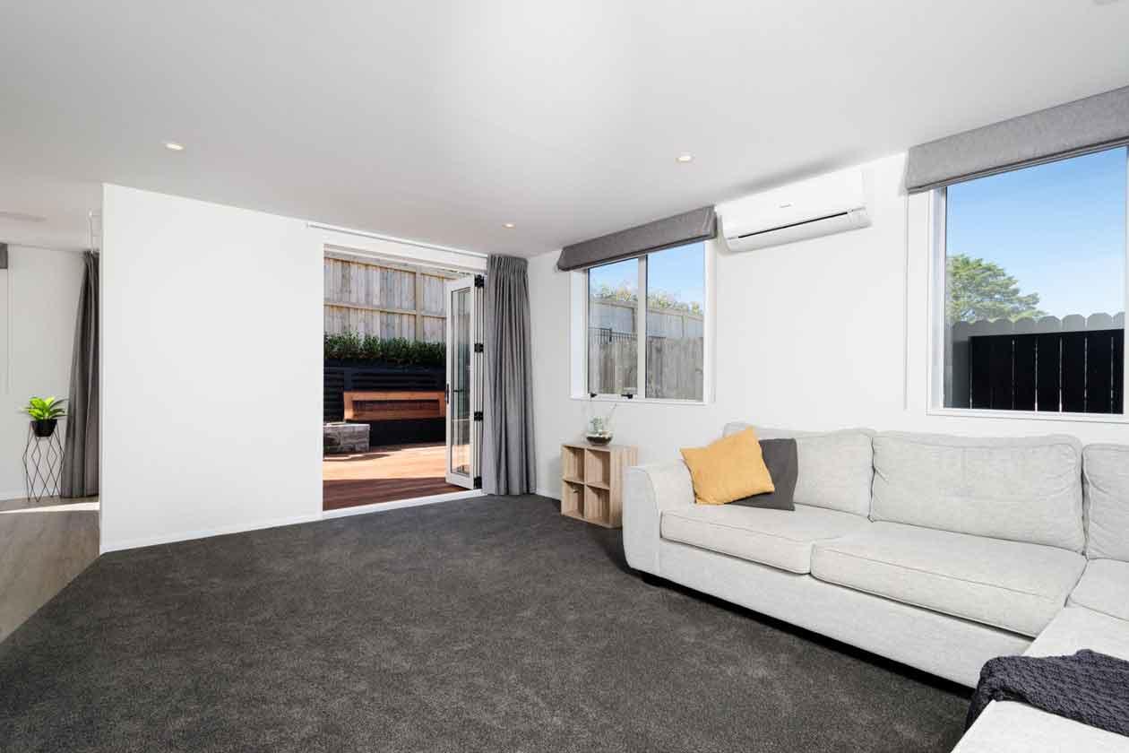 Ashcroft Homes indoor outdoor flow new home build