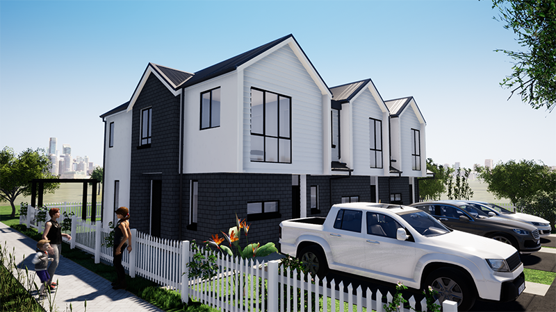 Ashcroft Homes Windsor Plan Terraced Housing