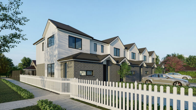 Ashcroft Homes, Newcastle, Terraced housing
