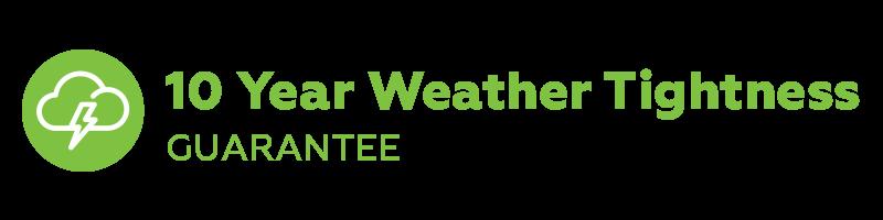 10 Year Weather Tightness Guarantee
